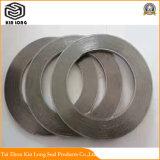 Guarnizione della ferita di spirale della grafite del metallo; Acciaio inossidabile di alta pressione del cgi della guarnizione di spirale della grafite di spirale della guarnizione 100% della ferita