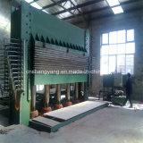 Máquina quente Multi-Layer da imprensa para a linha de produção da madeira compensada