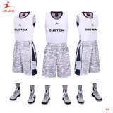 Basket-ball 2015 en gros de Mens de basket-ball de sublimation uniforme faite sur commande de modèle Jersey