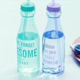 Бутылка дешевого любимчика качества еды материальная пластичная выпивая с сторновкой