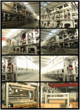 1880mm Kraftpapier gewölbtes Papier-Papierbeutel, der Maschine mit hoher Leistungsfähigkeit herstellt