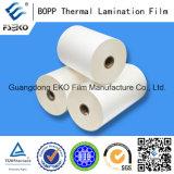 18mic película termal enorme de la laminación del rodillo BOPP para la impresión Fatory