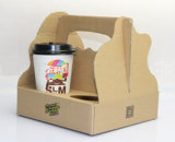 커피 승리 컵을%s 물결 모양 전시 상자