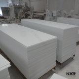feuille en pierre artificielle extérieure solide blanche de glacier de 12mm