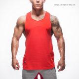Comercio al por mayor Men's Fitness Sport Camiseta sin mangas