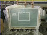 Ausgeglichenes lamelliertes Glas-Rückenbrett mit keramischem Fritte-Rahmen