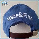 Tampão feito sob encomenda do chapéu do golfe do logotipo do bordado do algodão