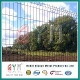 3D de la fábrica de cerco de malla de alambre soldado con Peach Post