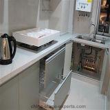 Base d'appoggio di pietra di marmo artificiale Polished di Worktop della cucina (YQG-AS1001)