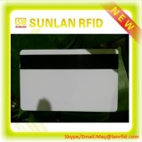 13.56MHz piste magnétique blanc Smart Card avec le prix inférieur