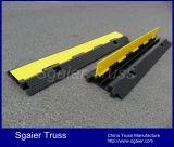 Протекторы кабеля шланга кабеля рециркулированные управлением резиновый