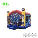 Sia all'aperto che all'interno combinato gigante gonfiabile di stile interessante dell'elefante affinchè bambini godano di buon tempo