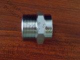 Штуцер отливки штуцера трубы ISO7-1 нержавеющей стали