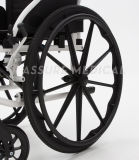 Alluminio, peso leggero, sedia a rotelle, nelle inabilità (AL-001G)
