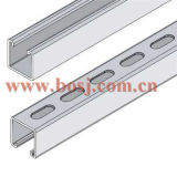 Puntone Channel Slotted Cable Tray 41*62mm Roll Forming Production Machine Myanmar