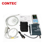De Draadloze Geduldige Monitor ECG van Contec Pm50 en Impuls Oximeter