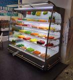 スーパーマーケットの開いたMultideckのカーテン冷却装置