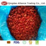 De bevroren Rode Gedobbelde Peper van de Hoogste Kwaliteit IQF
