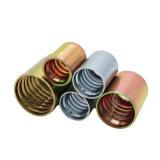 Virola hidráulica del manguito de goma hidráulico para el manguito R12/06-16