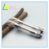 Cigarrillo electrónico Thc Cbd de aceite de CO2 Bud Vape cartuchos de vidrio con la punta de nivel/oblicua.