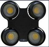 새로운 (할로겐 곁눈 가리개와 유사한) 4X100W 2800K/3200K/6500K 옥수수 속 LED 경청자 곁눈 가리개 빛