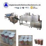 SWC-590集合的なミルクびんの収縮の包装機械