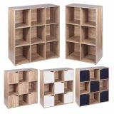6, 9 unité de stockage modulaire de Cube porte en bois bibliothèque Les bibliothèques