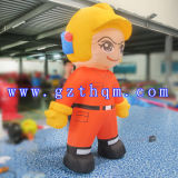 Publicité de haute qualité Custom Colorful Inflatable Cartoon Characters