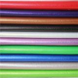 10 años de hidrólisis PU cuero sintético para muebles, tapicería de automóviles