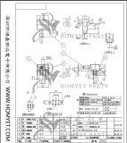 Interruttore di TUFFO/interruttore basculante/interruttore (SK-22D07)