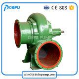 Moteur diesel Mix pompe centrifuge de Débit pour le champ de l'irrigation