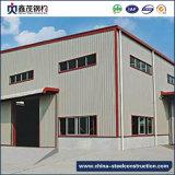 El edificio de la estructura de acero del panel de emparedado fabrica el almacén
