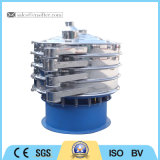 Tela de vibração rotativo de alta precisão de carbonato dissódico do sacudidor