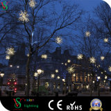 Luz feericamente do Natal quente para a decoração da rua
