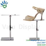 Zapatos de acero para rack de soporte de pantalla de la tienda