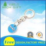 Metal Keychain del recuerdo de la manera de la multa de encargo de la buena calidad