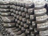 ASTM A234 Wpbの管付属品の肘、炭素鋼Sch40 90度の継ぎ目が無い管の肘