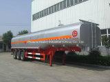 El mejor acoplado 50000L del petrolero del combustible de China semi