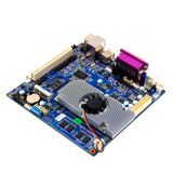 Scheda madre dell'atomo D2550 di Embeded con la lan Mini-Pcie/2