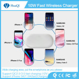 2017 Nuevo cargador inalámbrico rápido de Qi de moda para el iPhone 8/8 Plus/X