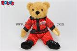 """10 """" hanno personalizzato l'orso dell'orsacchiotto del Brown con i vestiti uniti blu della corsa del veicolo dei corpi"""