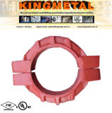 "Raccord rigide en fer ductile 5 ""Fire Fitting"