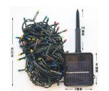 200 LED Green Solar String Lights