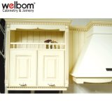 Welbom Modular de madera sólida mueble de cocina