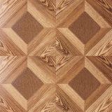 suelo laminado madera de la teca de la textura de la viruta de 8.3m m E1 AC3 HDF
