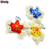 Peluche mascota de peluche juguete con cuerda de algodón y en 2 colores Bosw Squeaker1073/16cm.