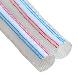 Boyau de textile de boyau renforcé par textile de PVC