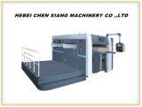 Machine se plissante de carton Semi-Automatique et de découpage plate