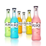 frasco de vidro de cocktail de 275ml Rio