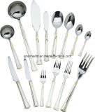 Wood Boxの113PCS Stainless Steel Cutlery Set